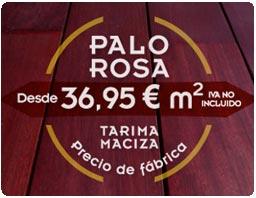 El palo rosa es una madera muy estimulante para generar ambientes intensos