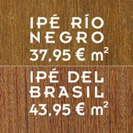 ¿Qué tipo de tarima maciza es mejor para mi terraza? Ipé de Brasil vs Ipé Rio Negro