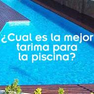 ¿Qué tarima de exterior es mejor para rodear mi piscina o jacuzzi?  Ipé vs Cumarú Rojo
