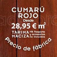 Fotos de terrazas con tarima exterior de Cumarú Rojo