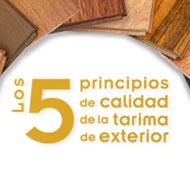 los 5 principios fundamentales de calidad de la tarima exterior para resistir en la intemperie